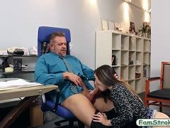 Bambi Brooks bangs her boss for more money