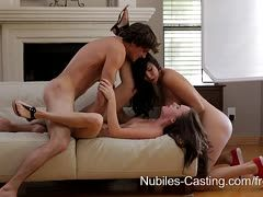 Holly Michaels and Jayden Taylor in a bi threesome
