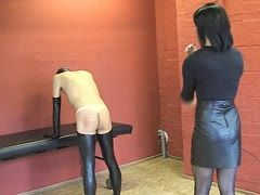 German dominatrix is punishing