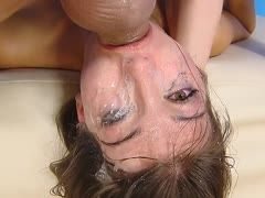 Extreme throat fucking with ass final