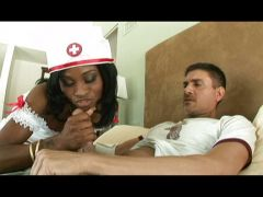 Black nurse needs a white fuckbuddy