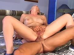 Anal orgasm during the first ass fuck