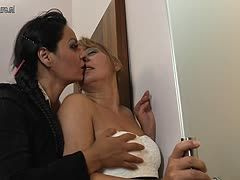 Mature bi ladies cheat on their men with a bbc