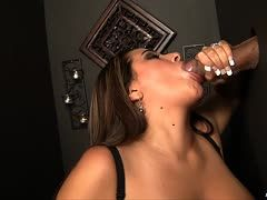 Glory hole blowjob with Sledge Hammer and Penelope Piper