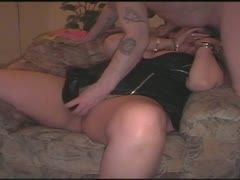 Bbw granny fucked by dildo and cock