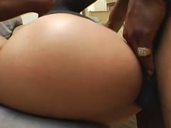 Trina Michaels likes black anal sex